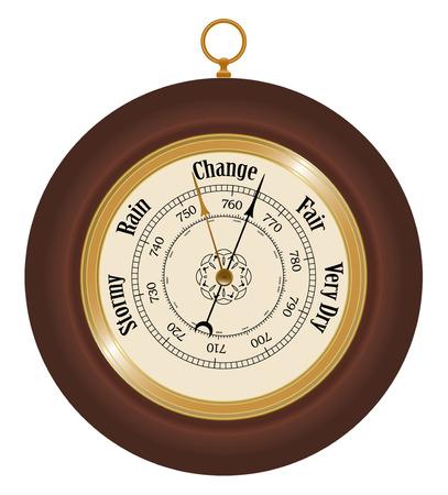 Barometer Stock Vector - 4803602