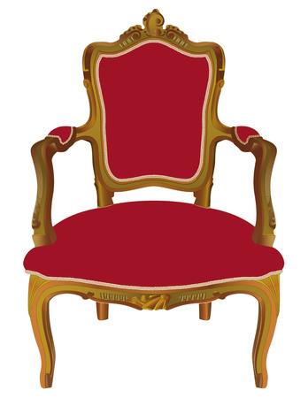antique chair: Louis XV armchair