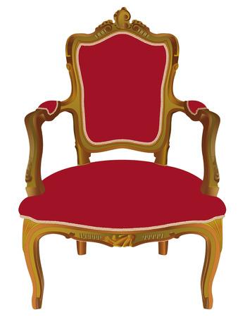 butacas: Louis XV sill�n
