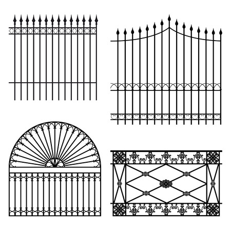 Fences Stock Vector - 6051902