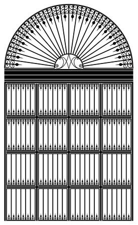 Schmiedeeisen-portal