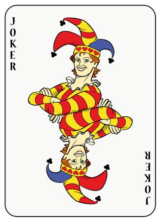 Symmetrische joker Stock Illustratie
