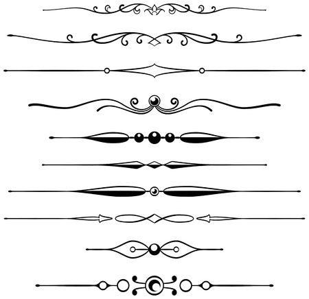 fretwork: Ten different page rules for elegant design
