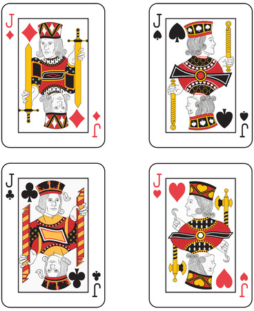 jacks: Four Jacks. Original design