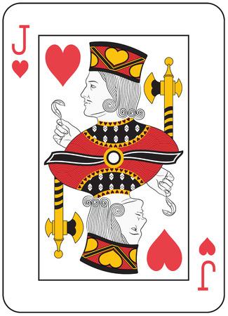 Jack of Heart. Original design Illustration