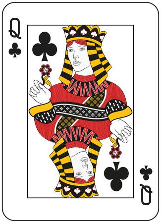 クラブの女王.オリジナル デザイン