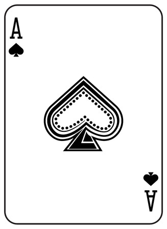 Ace of Spades Stylized original design