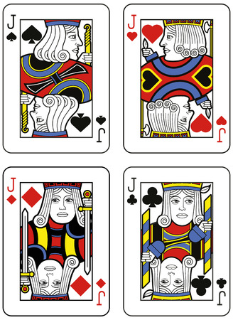 jacks: Four Jacks. Original design