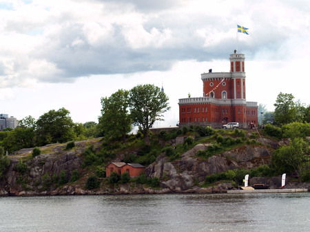 Kastellholmen in Stockholm Editorial