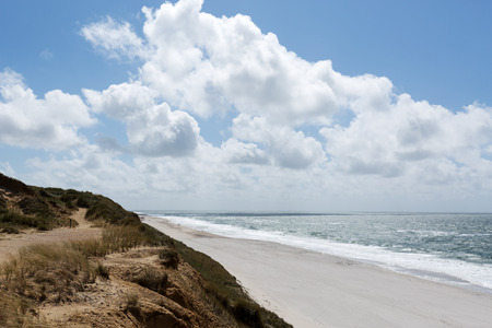 marvelous: Marvelous Sylt Beach View nearby  Kampen Germany Stock Photo