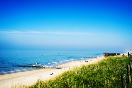 netherlands: Domburg Beach life  Netherlands Stock Photo