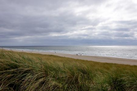 high tide: High Tide at Sylt Beach Stock Photo