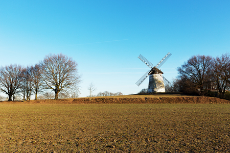 Close-Up to Traar Windmill  Germany