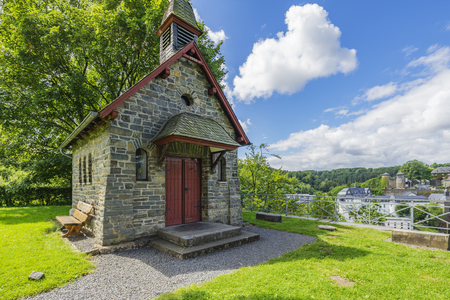 Small Chapel on Kierberg for Devotion at Monschau  Germany