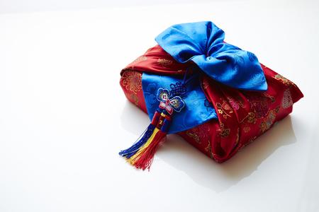 Korejský tradiční balicí tkanina