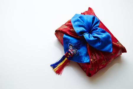 Korean traditional wrapping cloth Stock Photo