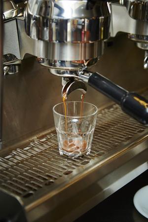 machine: Espresso machine Stock Photo