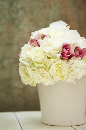tender tenderness: Flower bouquet Stock Photo