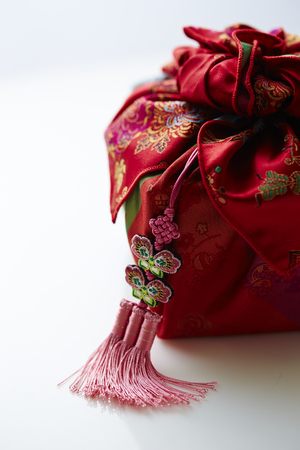 tradition: Korean traditional wrapping cloth Stock Photo