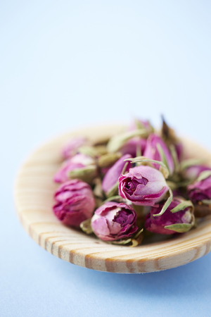 Floral herbal tea Stock Photo