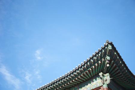 tradition: Korean traditional building