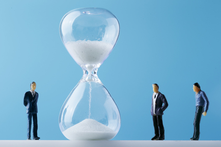 Men with hourglass