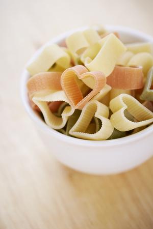 forme: Heart shape macaroni