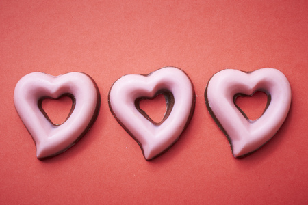 forme: En forme de coeur de chocolat
