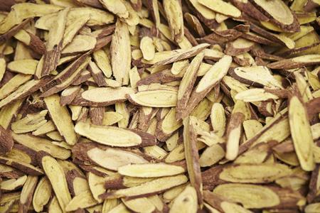 Licorice roots Stock Photo