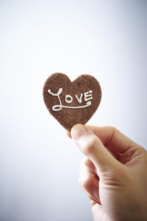 patisserie: Heart cookie