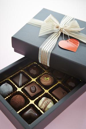 assort: Box of chocolate