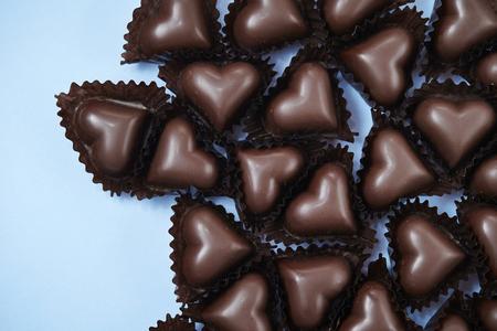 forme: Heart shape chocolate