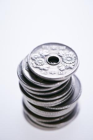 日本円硬貨 写真素材 - 74254738
