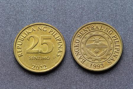 Philippine coins Stock Photo