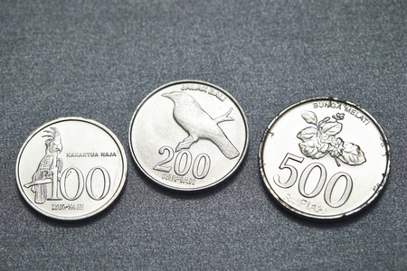 Indonesian coins Stock Photo - 74807022