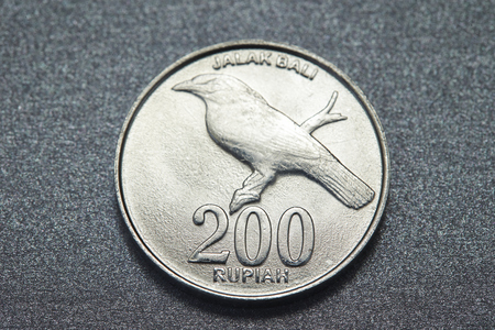 Indonesian coin Stock Photo