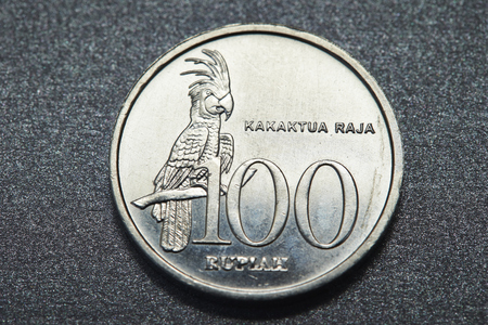 Indonesian coin Stock Photo - 74807035