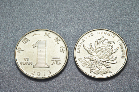 Chinese RMB coins