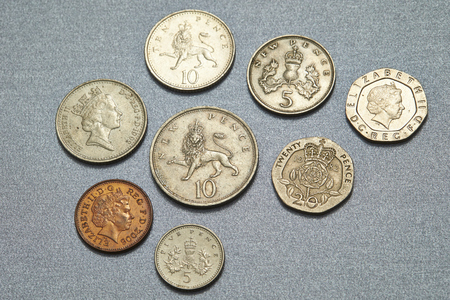 UK coins Stock Photo - 74749898