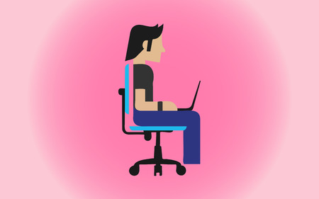 it professional: An IT Professional Illustration