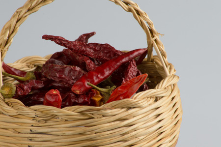 basket with Calabrian chili photo
