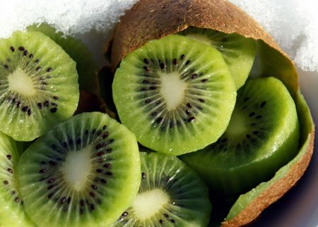 Kiwi Fruit is packed with Vitamin C, fiber and potassium.