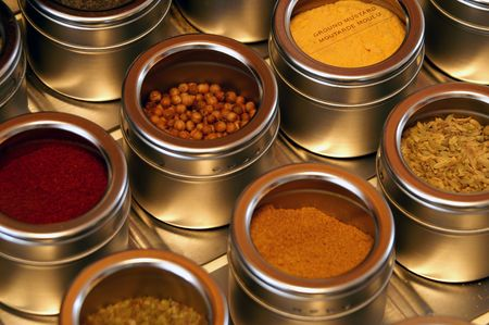 look for: An organized chef knows where to look for seasoning.
