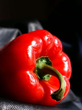 crudite: Choose ripe red peppers for their flavour and look past the wrinkles.