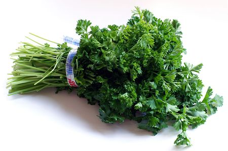 diuretic: The most widely used of all culinary herbs, parsley is rich in vitamins, iron calcium and potassium. Its a good antioxidant and breath freshener too! Stock Photo