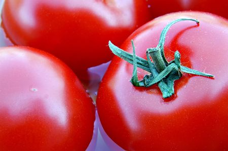 Italian tomatoes are a great source of lycopene, useful in the fight against some types of cancer.