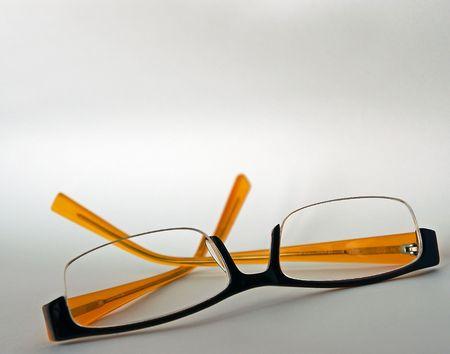 Modernos anteojos con marcos de colores Foto de archivo - 4271653