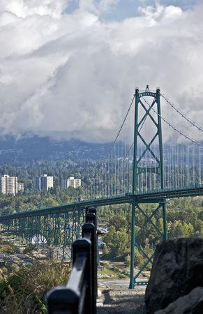 Lions Gate Bridge, Vancouver Stock Photo - 5889328