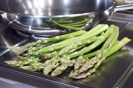 Market Fresh Asparagus Stock Photo - 6300364