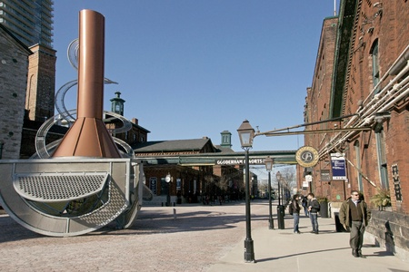 Distillery District - Toronto, Canada